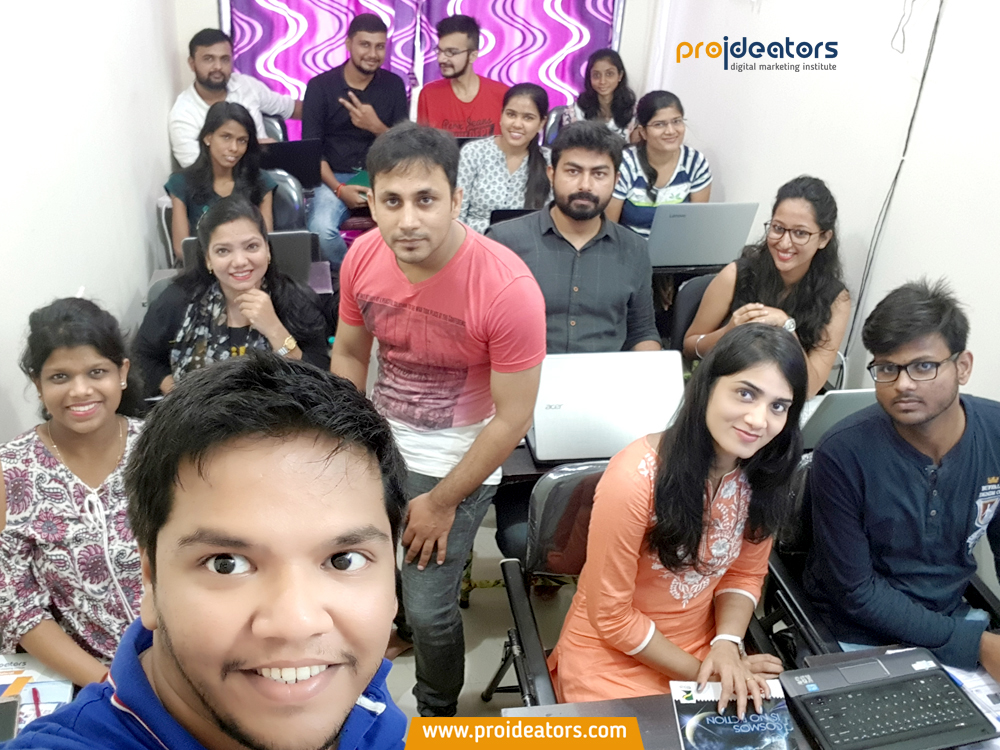 Proideators Digital Marketing Course Batch July 2017