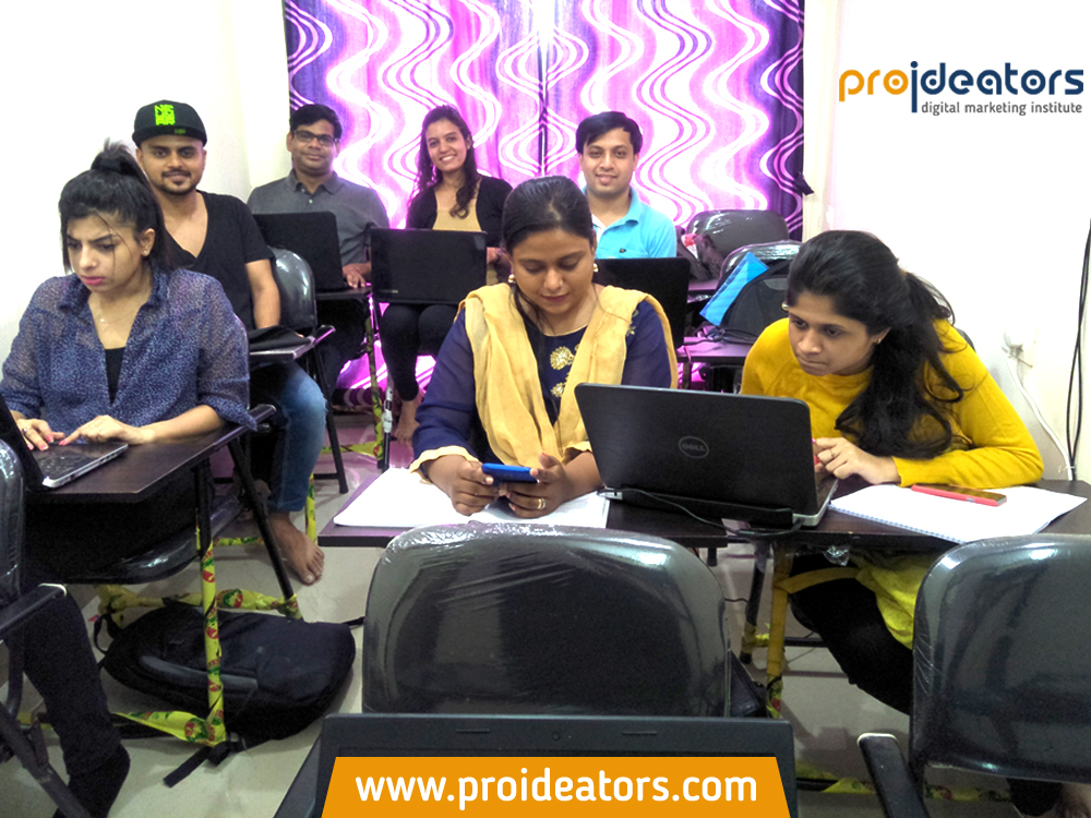 Proideators Digital Marketing Course Batch September 2017