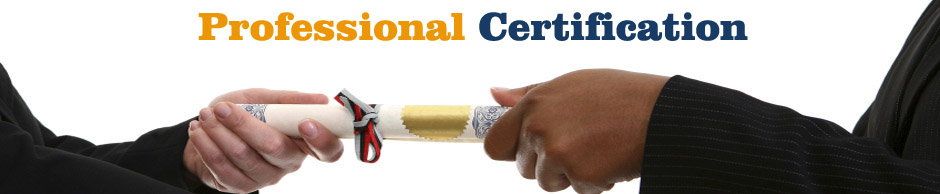 Professional Certification by Proideators