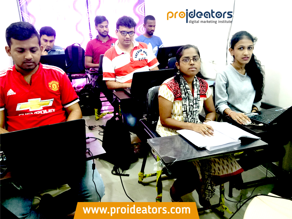Proideators Digital Marketing Course Training Institute Batch Images