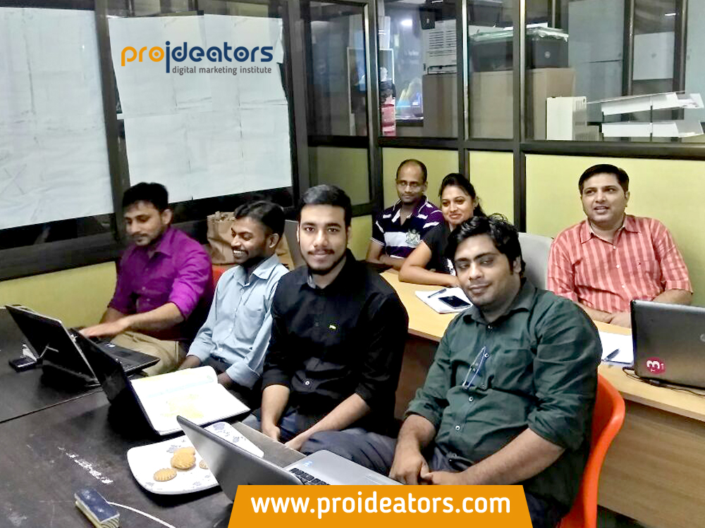 Proideators Digital Marketing Course Training Institute Navi Mumbai batch August 2016